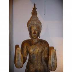 Wooden Buddha 10
