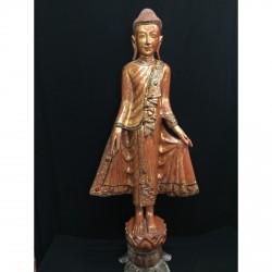 Træ Buddha 126