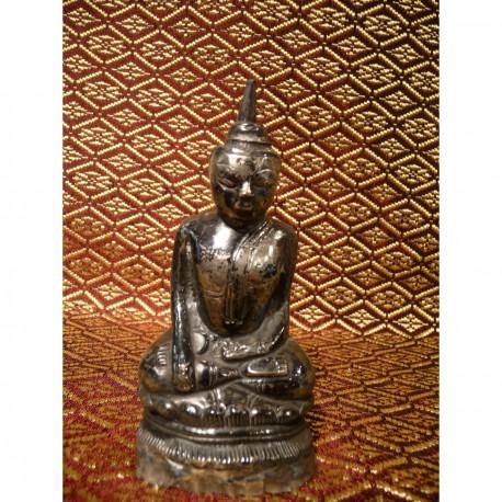 Sølv Buddha 5
