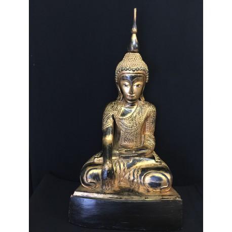 Wooden Buddha 141