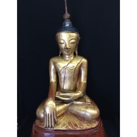 Lacquer Buddha 114