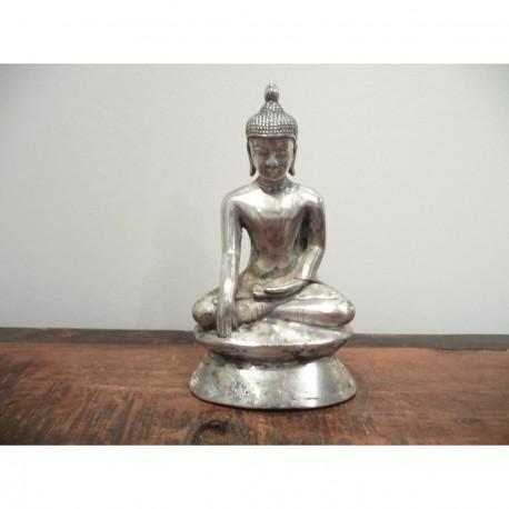 Sølv Buddha 8
