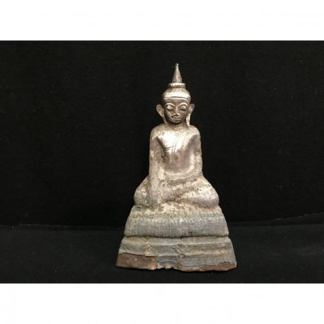 Sølv Buddha 10