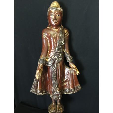 Wooden Buddha 134