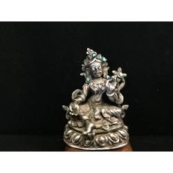Sølv Buddha 7