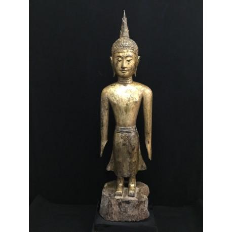 Wooden Buddha 135