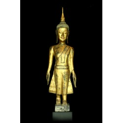 Wooden Buddha 138