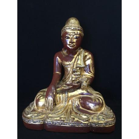 Træ Buddha 07